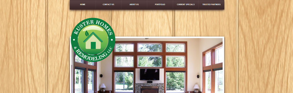 Kuster Homes Website